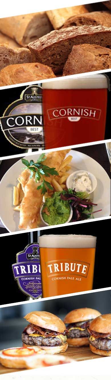 Dine out at The Russell Inn Pub Polruan Fowey